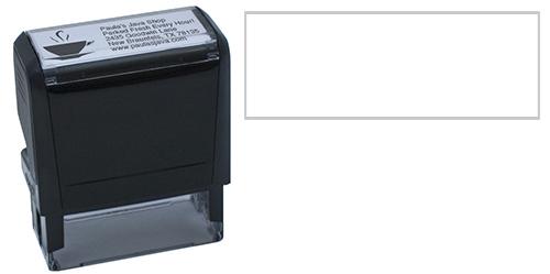 5-Line Self-Inking Stamp w/Logo