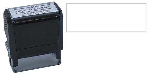 Clover Stylized Custom Stamp