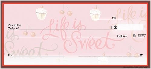 Life is Sweet Checks
