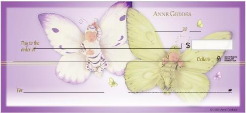 Anne Geddes Butterfly Babies Checks