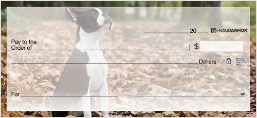 Boston Terrier Checks