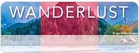 Wanderlust Address Labels