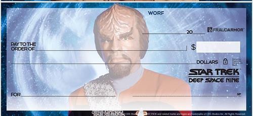 STAR TREK Deep Space Nine Checks