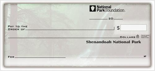 National Parks Side-Tear Checks