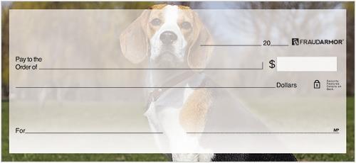 Beagles Personal Checks