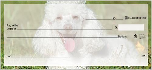 Poodles Checks