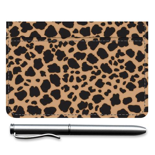 Leopard Debit Caddy