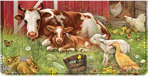 Barnyard Babies Leather Cover