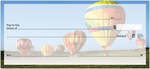 Hot Air Balloons Checks
