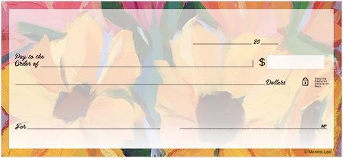 Artistic Blooms Checks