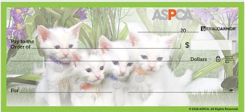 ASPCA Kittens Personal Checks