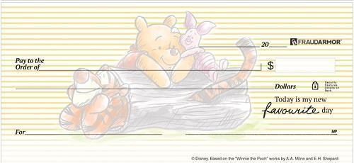 Winnie the Pooh & Friends Checks