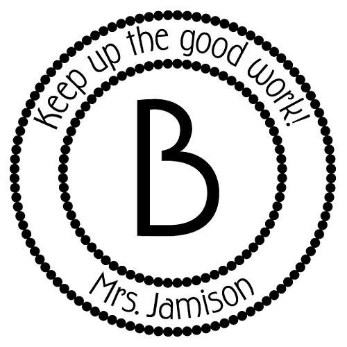 B Student Stamp