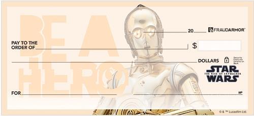Star Wars: The Rise of Skywalker Checks