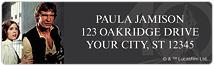 Star Wars  40th Anniversary Address Labels