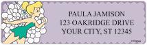 Modern Tinker Bell Address Labels