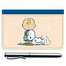 Charlie Brown & Snoopy Debit Caddy