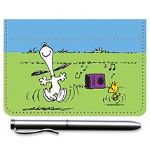 Snoopy Dancing Debit Caddy