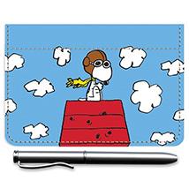Snoopy Flying Ace Debit Caddy