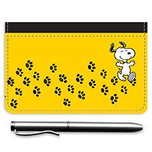Snoopy Paw Prints Debit Caddy