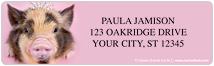 rachaelhale Pigs Sheet Labels